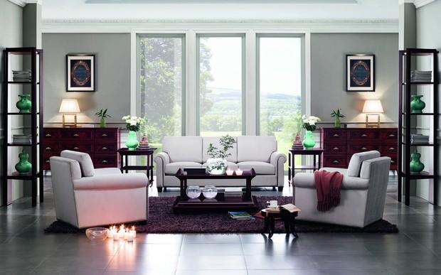 Расстановка мебели в гостиной: основные схемы