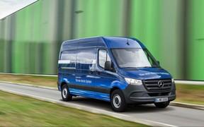 Разряд! Mercedes-Benz Sprinter перейдет на ток в следующем году