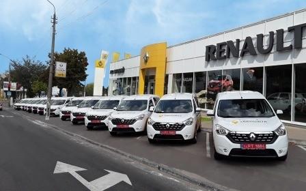 Renault АИС Автокрай завершил сделку по поставке для ПАО Укрпочта специализированных автомобилей Renault Dokker.