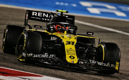 Renault DP World F1 Team на Гран-прі Бахрейну