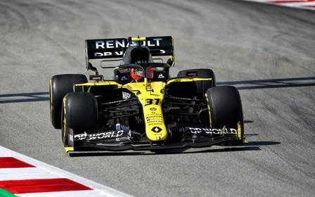 Renault DP World F1 Team на Гран-при Испании