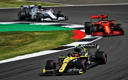 Renault DP World F1 Team на Гран-при Великобритании