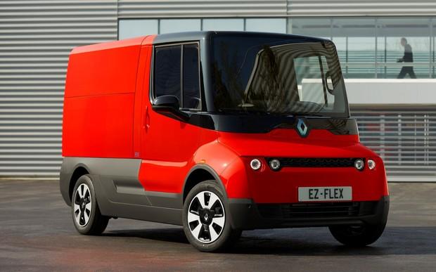 Renault EZ-FLEX планирует революцию на рынке развозных фургонов