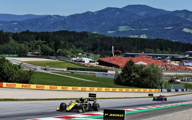 Renault F1 Team на Гран-прі Австрії