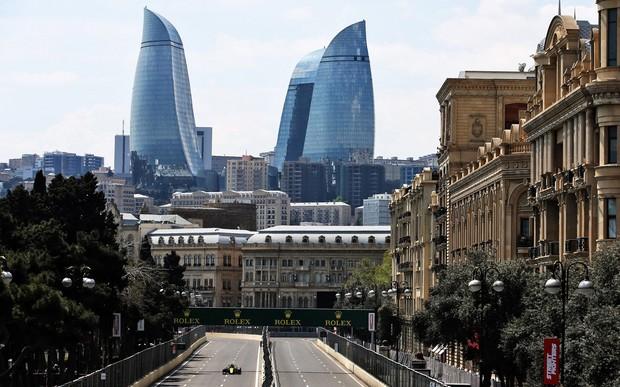 Renault F1 Team на Гран-при Азербайджана