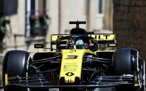 Renault F1 Team на Гран-прі Азербайджану.