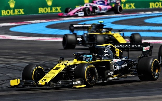 Renault F1 Team на Гран-при Франции