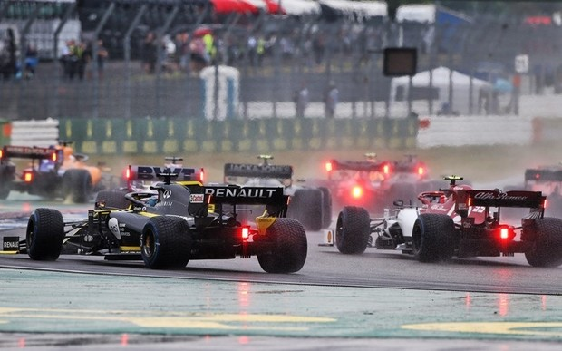 Renault F1 Team на Гран-прі Німеччини
