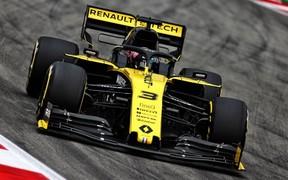 Renault F1 Team на Гран-прі Іспанії