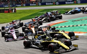 Renault F1 Team на Гран-при Италии