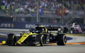 Renault F1 Team на Гран-при Сингапура