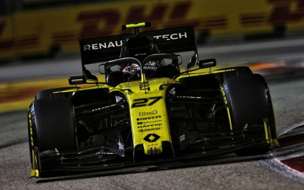 Renault F1 Team на Гран-прі Сінгапуру