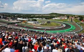 Renault F1 Team на Гран-при Венгрии