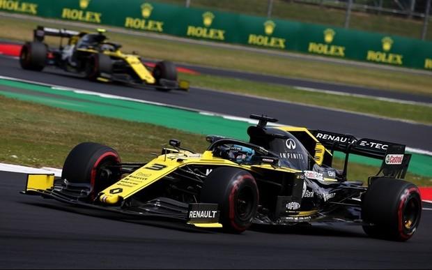 Renault F1 Team заработала очки на Гран-при Великобритании 2019