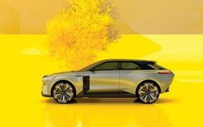 Renault представляє електричний концепт-кар Morphoz
