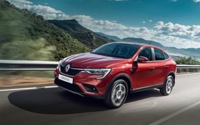 Renault в Украине представляет совершенно новый купе-кроссовер Renault Arkana