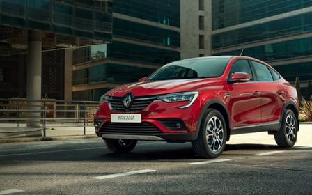 Renault в Україні презентує абсолютно новий купе-кросовер Renault Arkana.