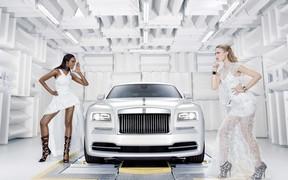 Rolls-Royce Wraith покоряет мир высокой моды