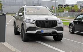 Роскошный Mercedes-Maybach GLS представят в конце этого месяца