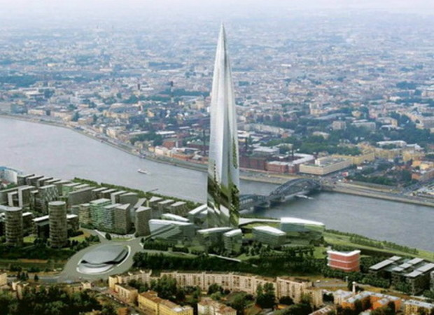 Росохранкультура выступила против строительства «Охта-Центр»