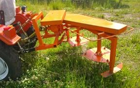Роторні косилки для мінітракторів
