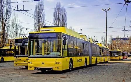 С кондиционером и видеонаблюдением. Первые новые троллейбусы получил Киев