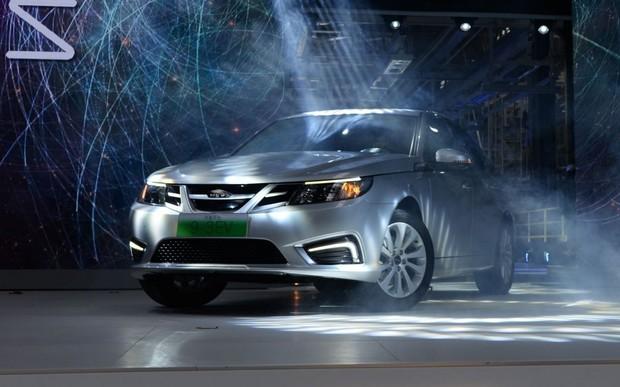 Saab 9-3 стал китайским электромобилем
