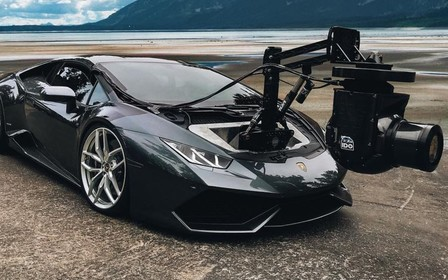 Самая дорогая селфи-палка в мире: Lamborghini Huracan превратили в камера-кар