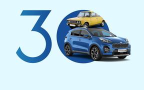 Самые популярные автомобили с годом выпуска от 1991 до 2021 на украинском авторынке