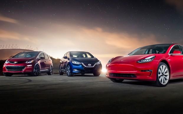 Самые популярные электромобили в Украине. Что покупали в марте?