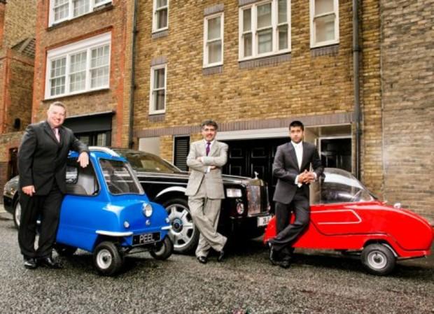 Самый маленький автомобиль в мире идет в производство в Британии