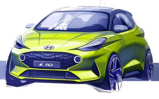 Самый маленький Hyundai. Компания показала как будет выглядеть новый i10