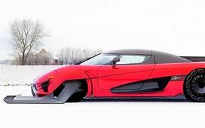 Сани Санты. Koenigsegg Agera RS переоснастили для развозки подарков