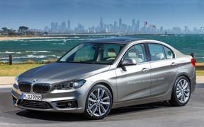 Седан BMW 1 серии появится в 2016 году
