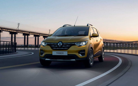 Семеро на четырех метрах. Представлен новый Renault Triber