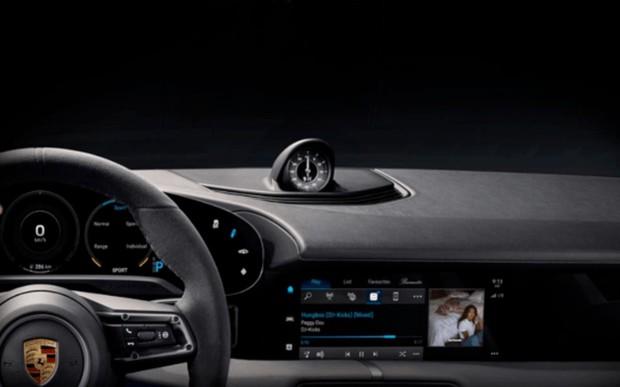 Сервіс Apple Music буде доступний в автомобілі Porsche Taycan