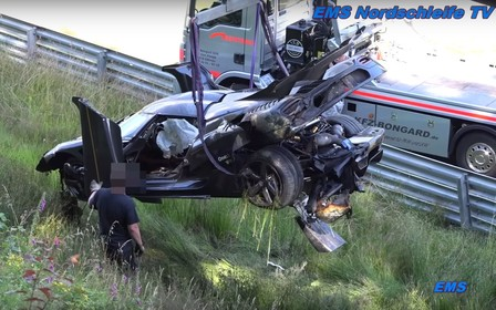 Сгорел в аду: Гиперкар Koenigsegg не выдержал испытания Нюрбургрингом