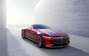 Шесть метров элегантности: Купе Mercedes-Maybach 6 полностью рассекретили
