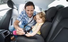 Штраф за нарушение правил перевозки детей предлагают повысить до 850 гривен