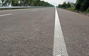 Шумовые полосы начнут устраивать на дорогах с 1 сентября