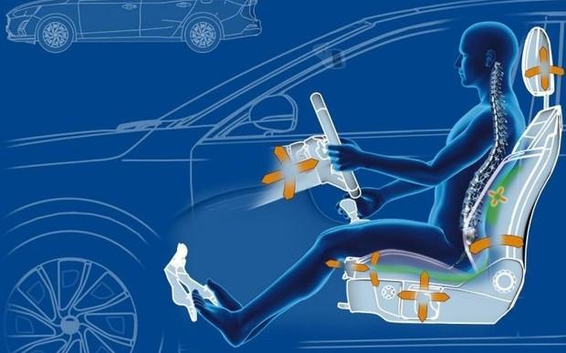 Сидіння нового Ford Focus допомагають водіям позбутися болю в спині