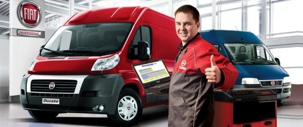 Скидка 20% на запчасти и сервисные работы для автомобилей Fiat старше 3-х лет