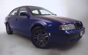 Skoda Octavia с пробегом около 700 тысяч километров восстановили до состояния нового авто