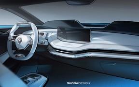 Skoda покажет концепт электрокара уже в этом месяце