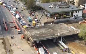 Скоро поедем? Движение на Шулявском мосту в Киеве возобновят до конца года