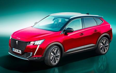 Наступний Peugeot 3008 стане купе-кросовером?