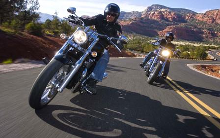 Советы мотоциклистам: правила движения в мотоколонне