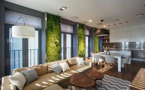 Современный, морской и эко-стили в дизайнах недели на DOM.RIA
