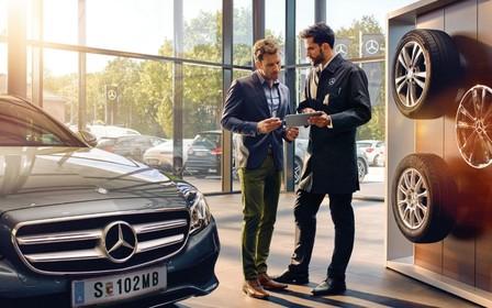 Спеціальна акційна пропозиція для сервісного обслуговування Mercedes-Benz
