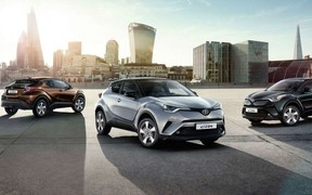 Спеціальна пропозиція на Toyota C-HR